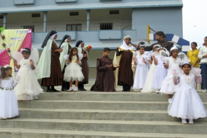 Flos Carmeli Convent School-Mount Carmel Feast