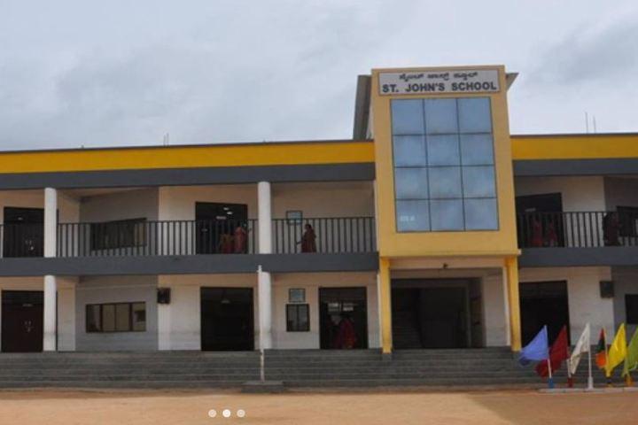 St Johns School-School Front View