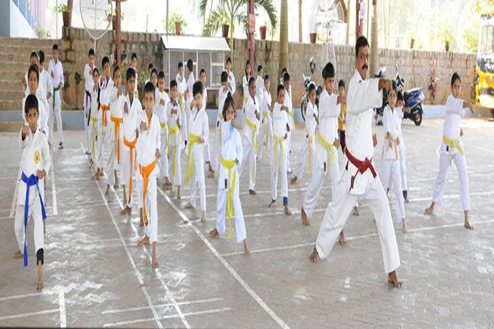 Trinity Central School-Karate Class