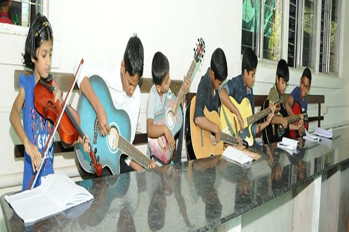 Trinity Central School-Music Class