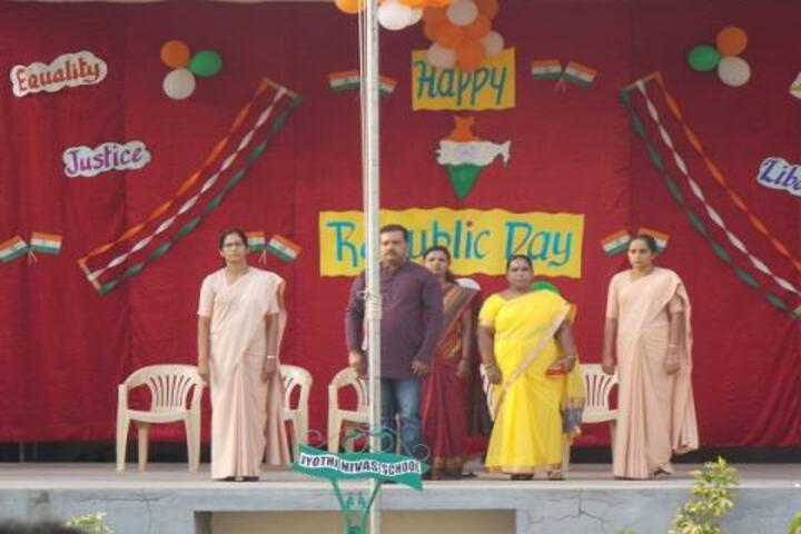 Jyothi Nivas School-Republic Day Celebration