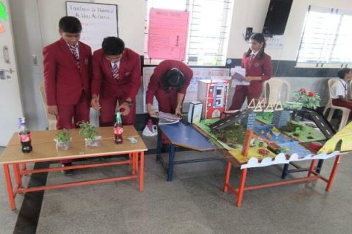 Jyothi Nivas School-Science Exhibition
