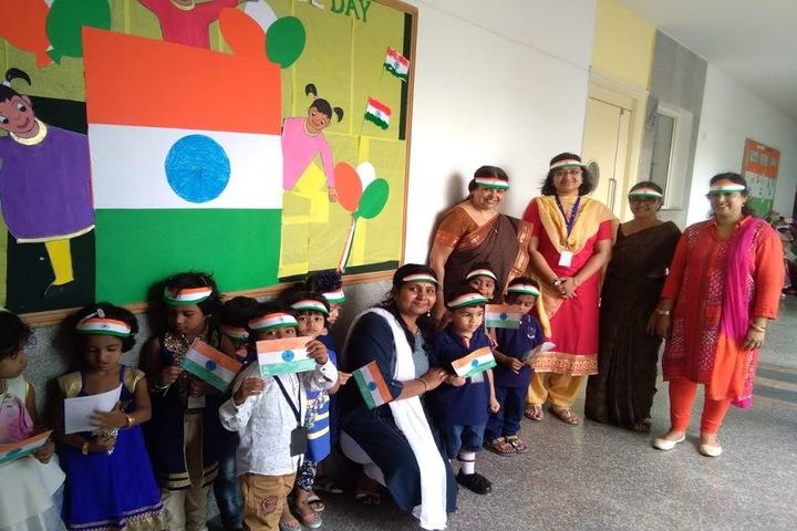 Aavishkar Academy-Independence Day Celebration