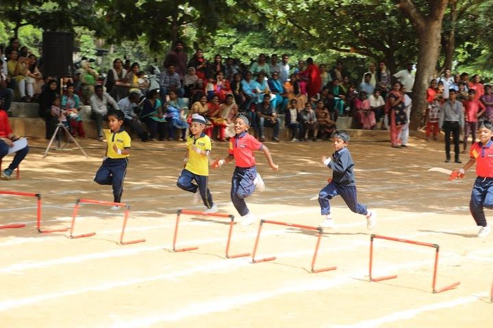 Aavishkar Academy-Junior Sports Day
