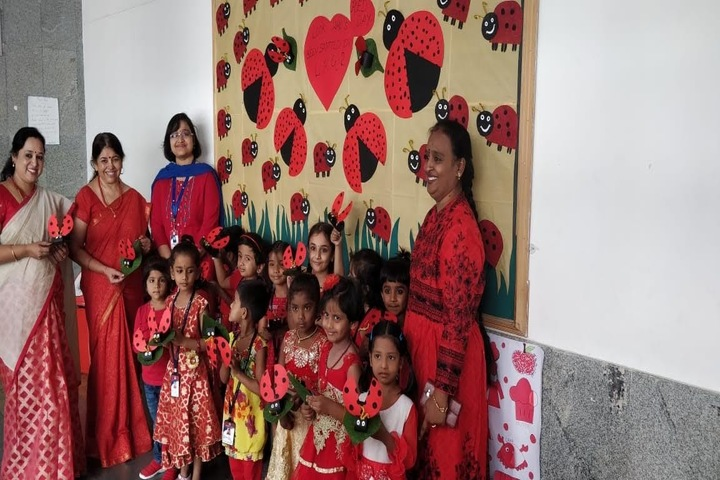 Aavishkar Academy-Red Day