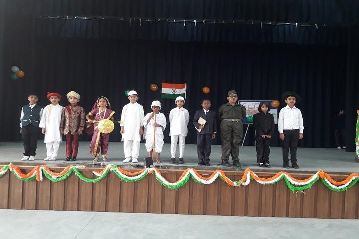 Aavishkar Academy-Republic Day Celebration