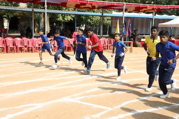 Aavishkar Academy-Senior Sports Day