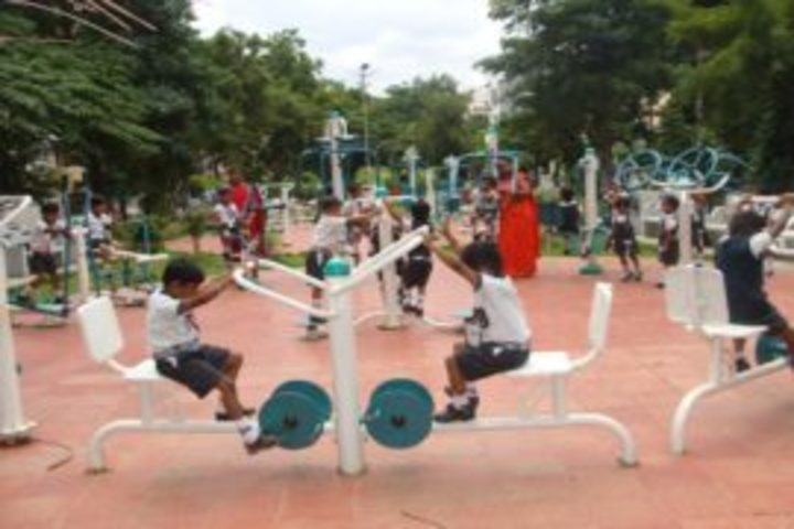 Aryan Presidency School-Play Area