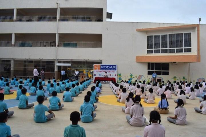 Podar International School-International Yoga Day