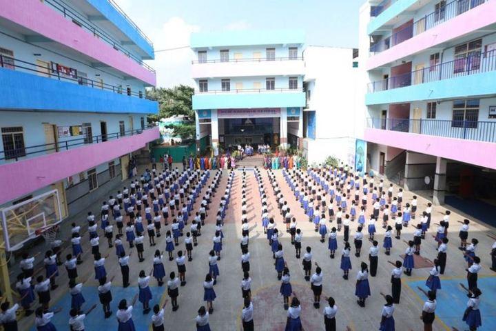 New Baldwin School-Assembly Area