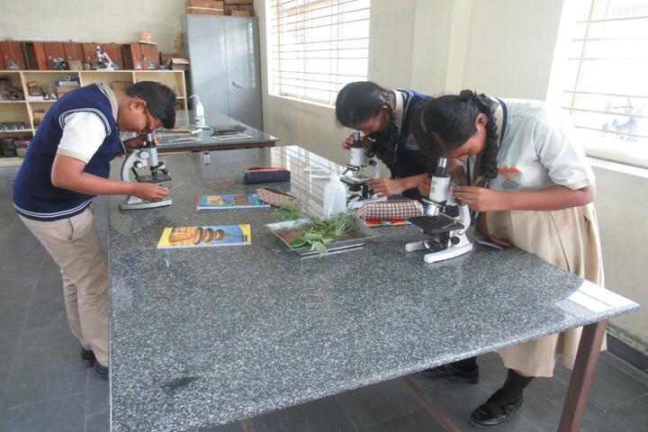 Vishwajyothi International Public School-Biology Lab