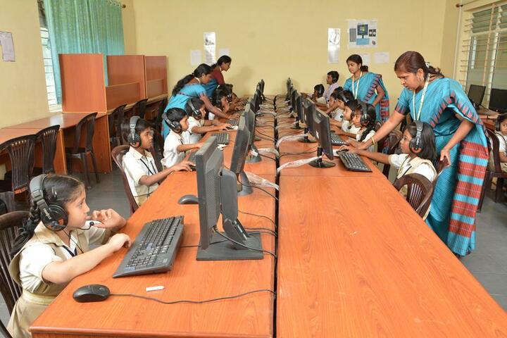 Vishwajyothi International Public School-Language Lab