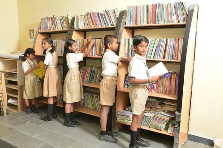 Vishwajyothi International Public School-Library