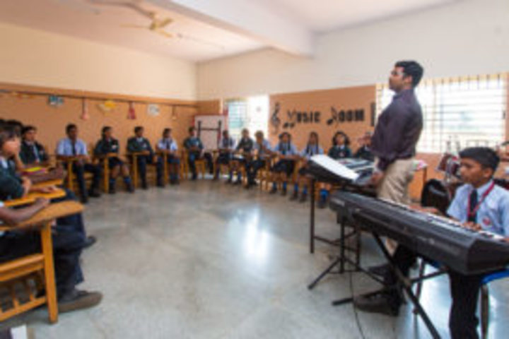 United International School-Music Room