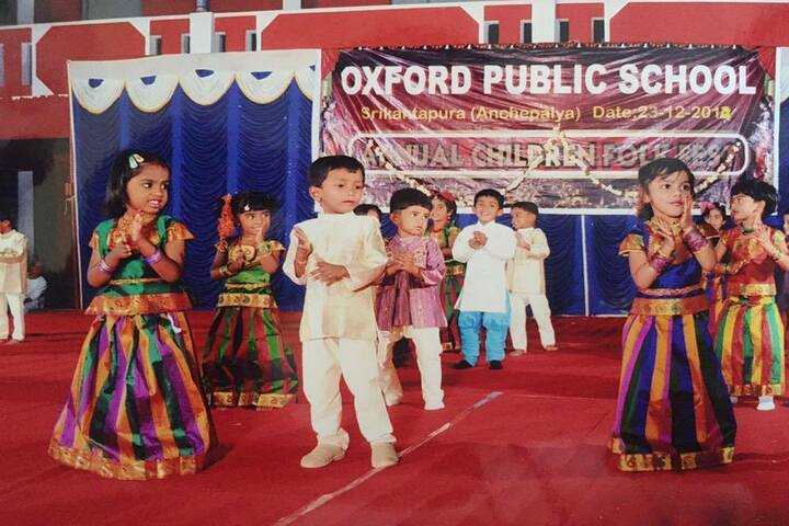 Oxford Public School-Annual Day