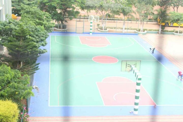 St Patricks Academy-Basketball Court