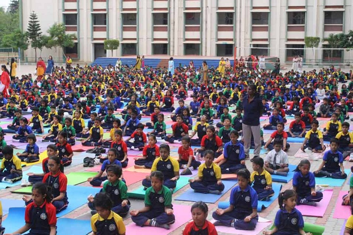 St Patricks Academy-Yoga Day