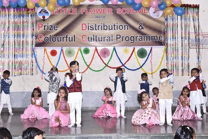 Little Flower School-Kg Students Dance