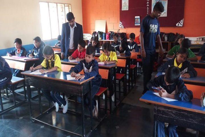 B G S Model Public School Mandya-Class Room