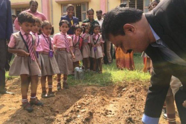 B G S Model Public School Mandya-Environment Day