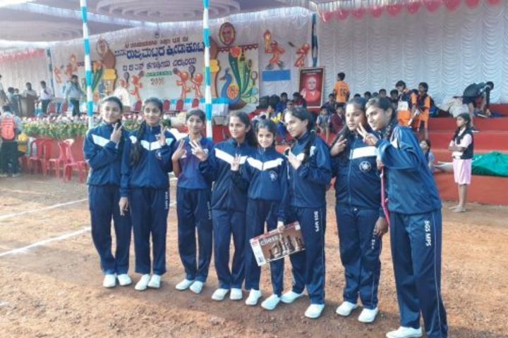 B G S Model Public School Mandya-Sports Day