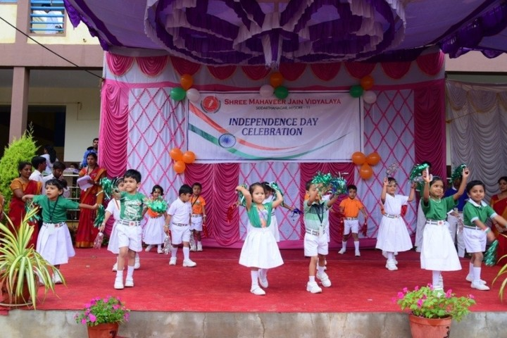 Shree Mahaveer Jain Vidyalaya-Independence Day Celebration