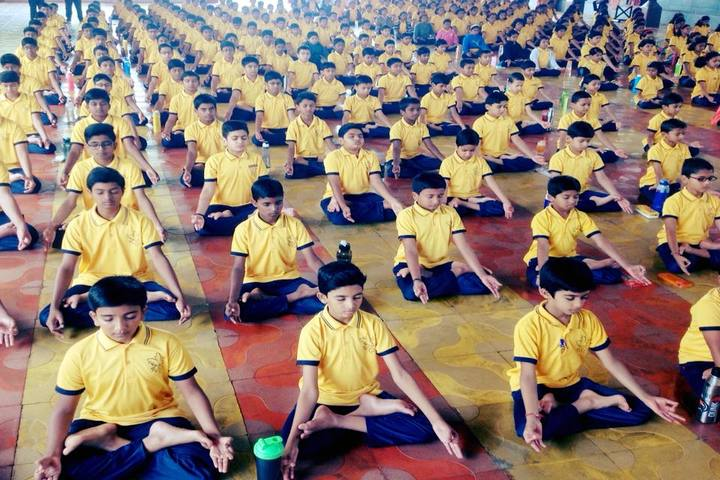 Parivarthan Elite Residential School-Yoga Day
