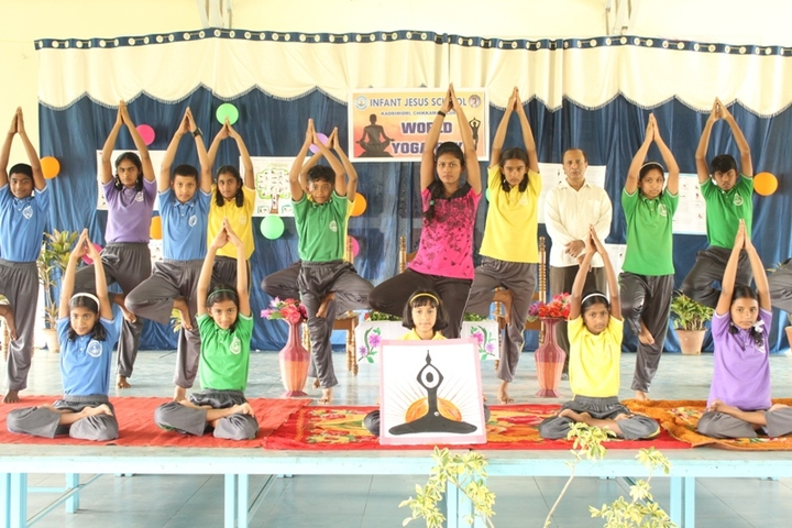 Infant Jesus School-International Yoga Day