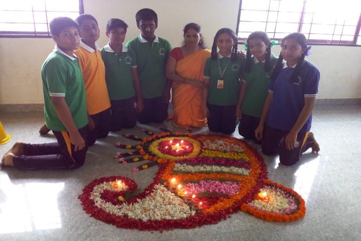 Shri Vivekananda Public School-Diwali Celebration
