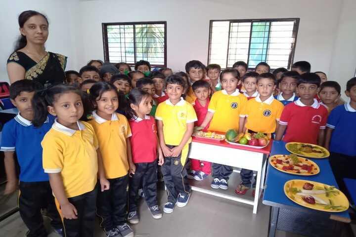 Shri Vivekananda Public School-Food Day