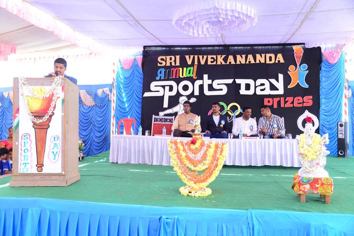 Shri Vivekananda Public School-Sports Day