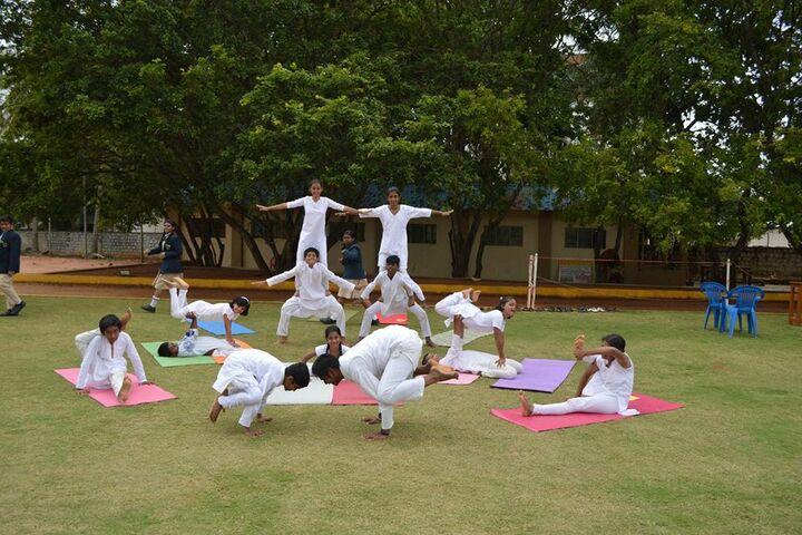 M. E. C. Public School-Human Pyramid