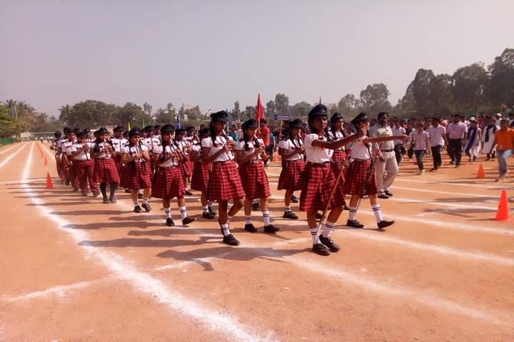 M. E. C. Public School-March Past