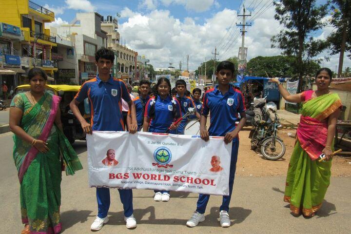 B G S World School-Environment Day