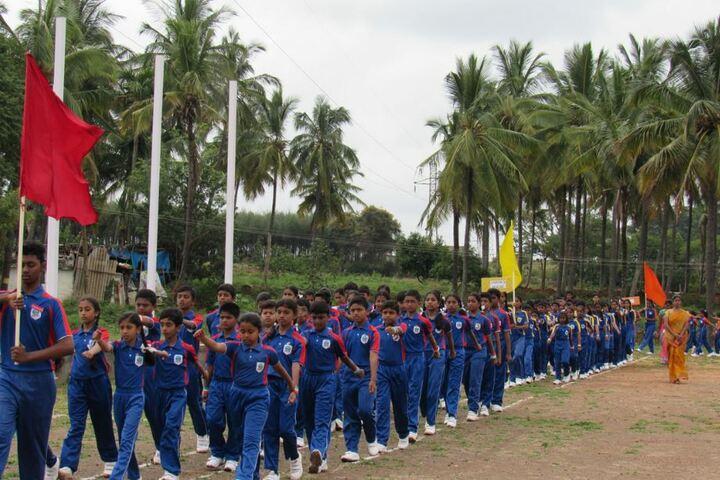 B G S World School-March Past