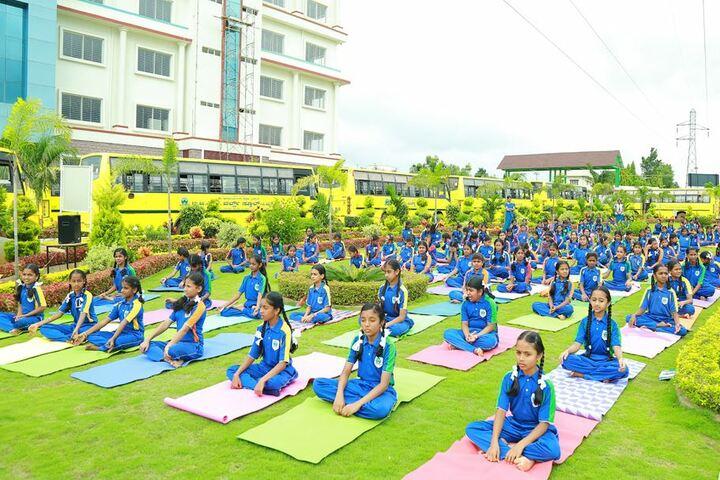 B G S World School-Yoga Day
