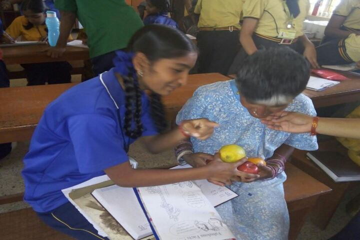 Citizens English School-Old Age Home Visit