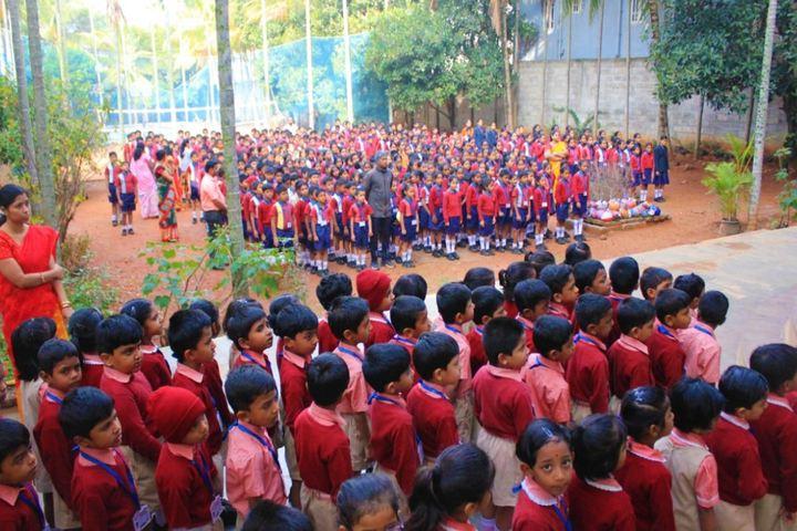 Aham Aathma Vidyalaya-Assembly