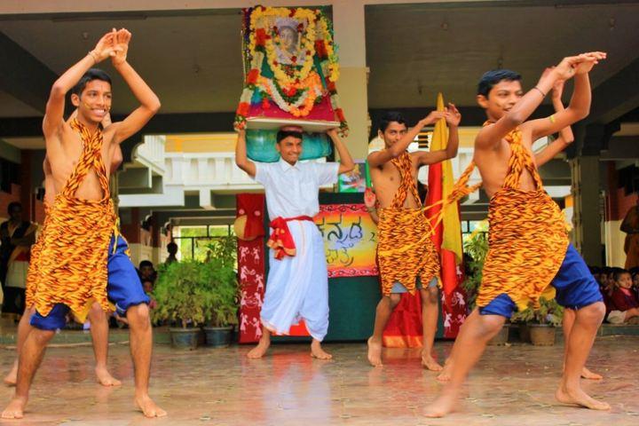 Aham Aathma Vidyalaya-Cultural Dance