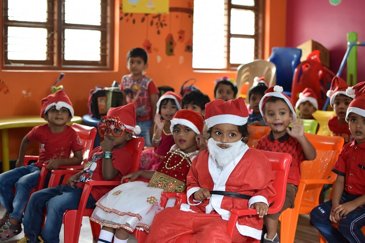St Philomina Public School-Christmas