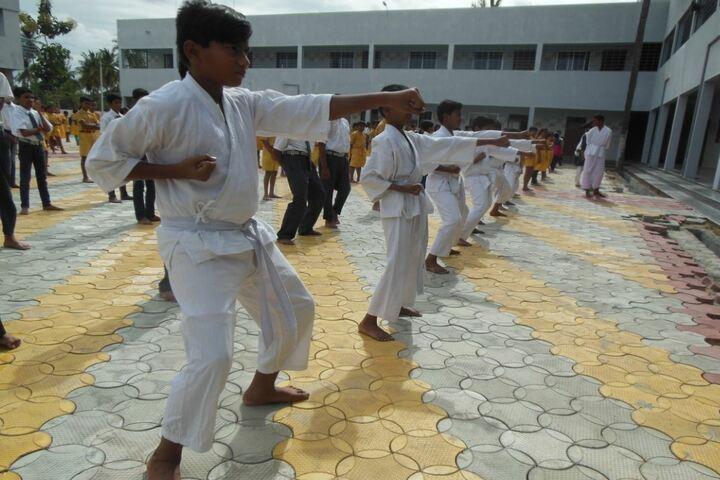 Twinkle United Public School-Karate