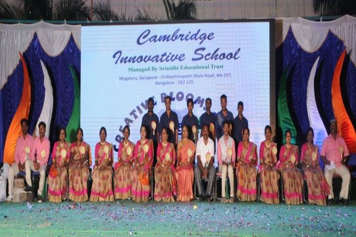 Cambridge Innovative School-Staff
