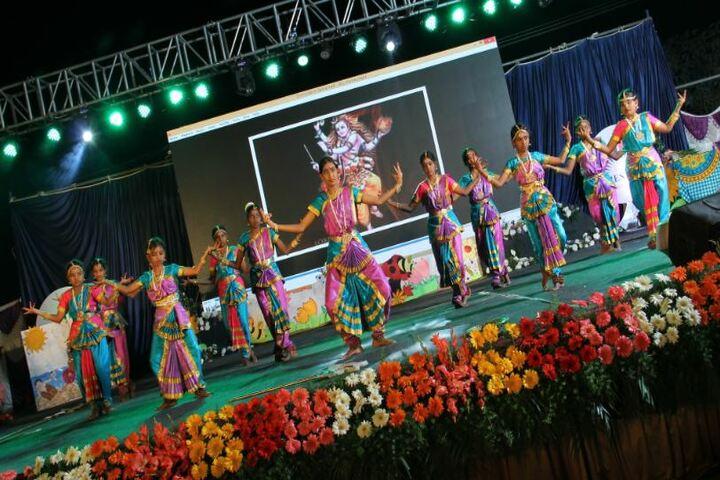 Prestige International School-Cultural Dance