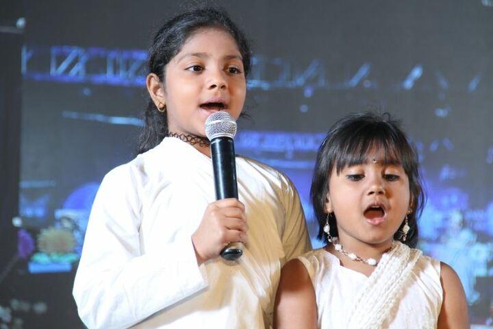 Prestige International School-Singing