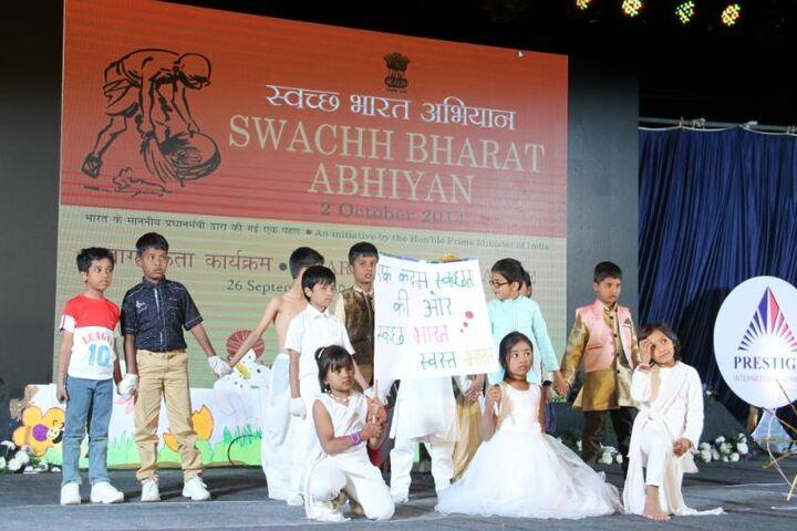Prestige International School-Swachh Bharat Abhiyan