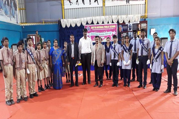 Aditya National Public School-Investiture Ceremony