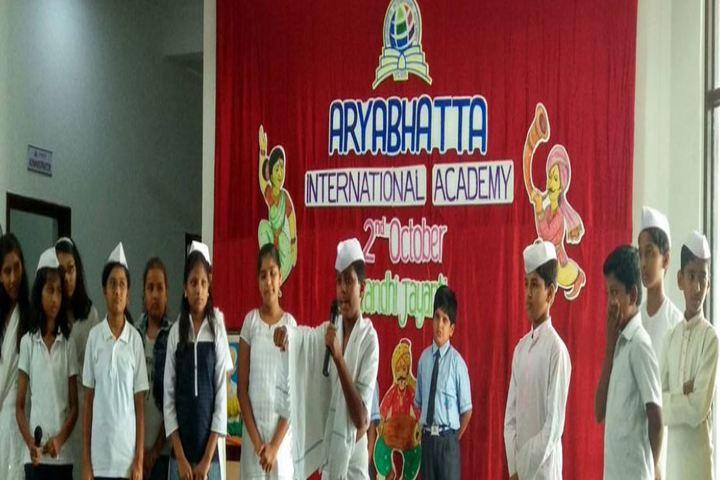 Aryabhatta International Academy-Gandhi Jayanti Celebrations