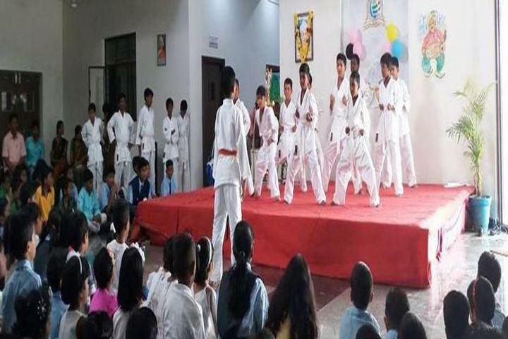Aryabhatta International Academy-Karate