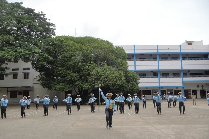 Holy Cross Ashram School-Band Troop