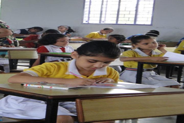 Holy Cross Ashram School-Class Room